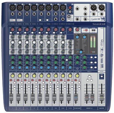 Soundcraft Signature 12Ch Mixer w USB FX