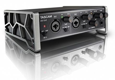 Tascam US-2X2HR Audio Interface