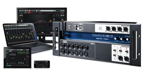 Soundcraft 16 Input Digital Mixer RContr