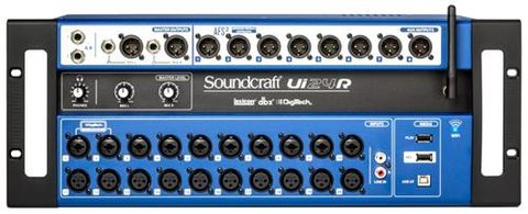 Soundcraft UI24R 24in RC Digital Mixer