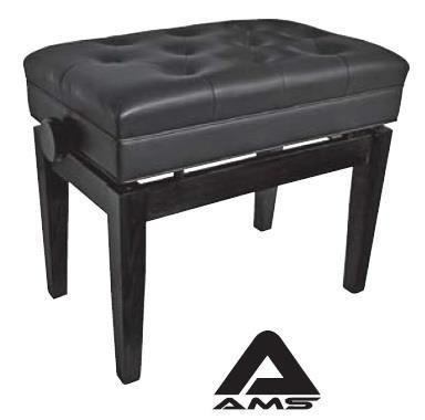 Ebony KTW15 Adjustable Piano Stool