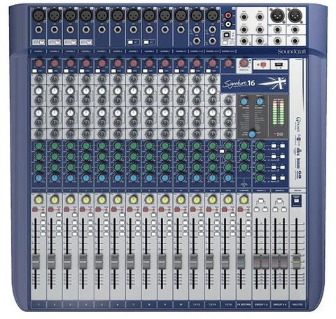 Soundcraft Signature 16Ch Mixer w USB FX