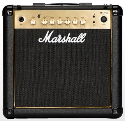 Marshall 15w MG15GR Gold Combo w Reverb