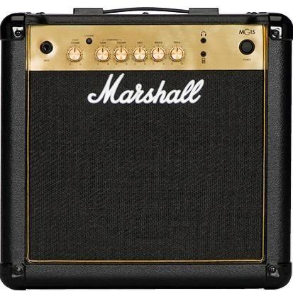 Marshall 15w MG15G Gold Combo Guitar Amp