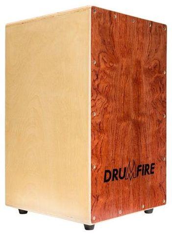 Drumfire Yellow Rosewood Cajon with Bag