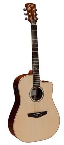 Faith Higloss Saturn Cut Ac/El Guitar