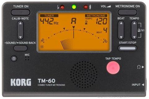 Korg TM60 Black Tuner Metronome
