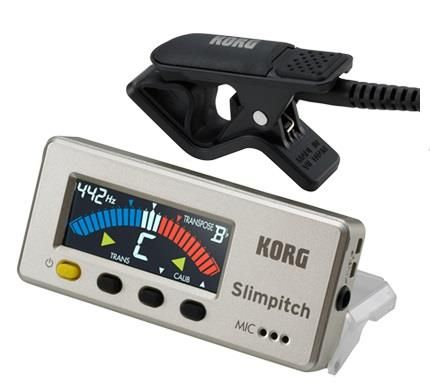 Korg Slimpitch Tuner Pearl Gold
