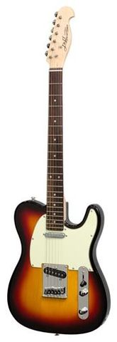 J&D Tele Style Electric Guitar TSB