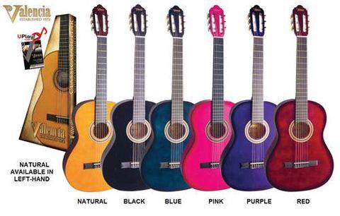Valencia 4/4 LH NAT Classic Guitar