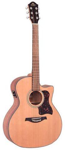 Gilman A12CE Cutaway Ac/El Guitar