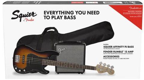 Fender PJ Bass BSB Pack