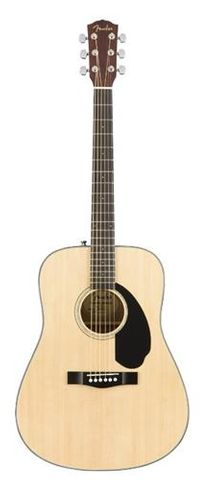 Fender CD60S Dreadnought NATURAL Pack
