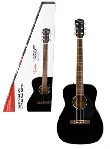Fender CC60S Black Concert Acoustic Pack
