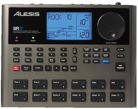 Alesis SR18 Pro Drum Machine