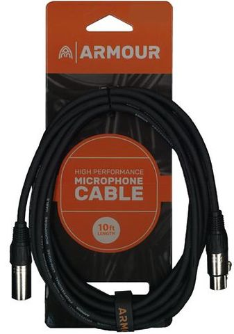 Armour CCP10 XLR 10ft Mic Cable