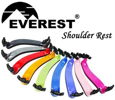 1/2-3/4 Everest VIOLIN Shoulder Rest GRN