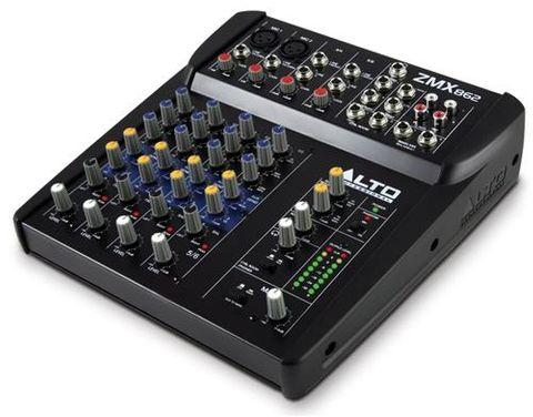 Alto Pro ZMX862 6Ch Compact Mixer
