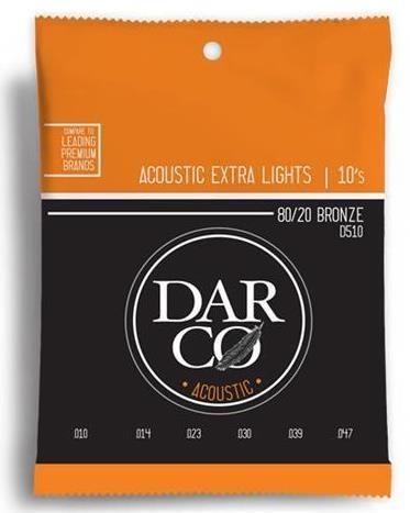 Darco Bronze 10-47 Extra Lite Strings