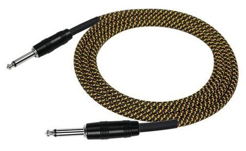 Kirlin 10ft Woven TWEED Guitar Cable