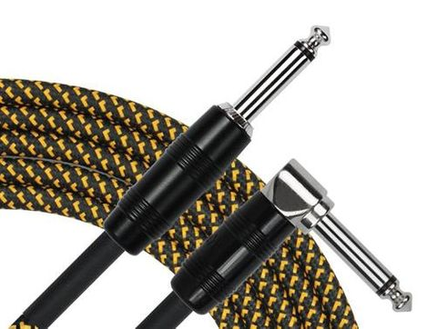 Kirlin 20ft Woven TWEED RA-STR Gtr Cable