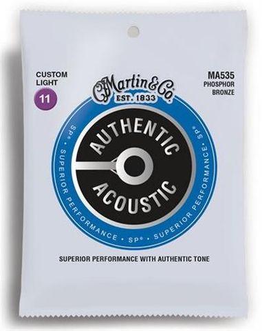 Martin Phos Bronze 11-52 Auth Tone Ser
