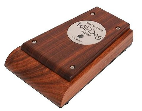 Tassie Devil Timber Solid Stomp Box