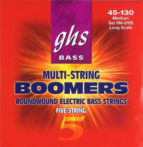 GHS Bass Boomers 5MDYB 5 Str  45-130