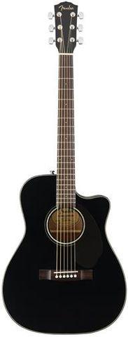Fender CC60SCE Black Concert WN Ac/El