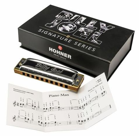 Hohner Billy Joel Signature Harp Key C