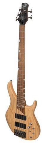 J&D 4805ASH 5 String Bass Guitar