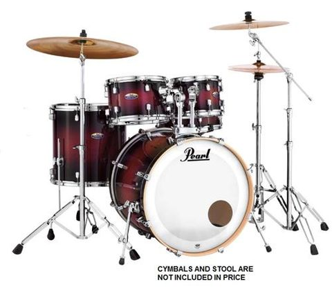 Pearl DMP925 Deep Red Burst Fusion Kit