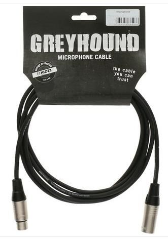 Klotz Greyhound 10m XLR 3P FM Mic Lead