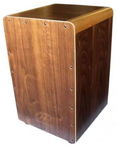 Opus Perc Walnut Cajon with Bag