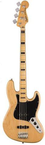 Fender SQ CV 70s Jazz Bass MN NAT