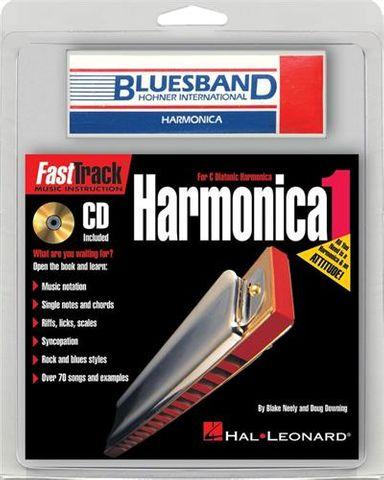 Fasttrack Mini Harmonica Pack BkCDHarm