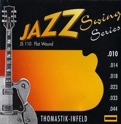 DT Jazz Swing Series Flatwound Set 10/44
