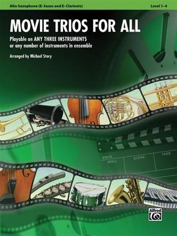 Movie Trios For All ALTO SAX