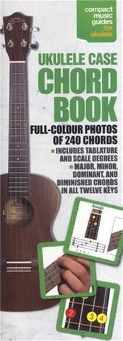 Ukulele Case Chord Book