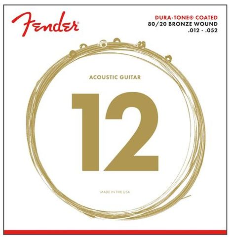 Fender 12-52 Dura-Tone Bronze Strings