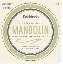 D'Addario J75 Mandolin Strings - Med/Hvy