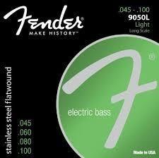 Fender 45-100 Flatwound Long Scale Strgs