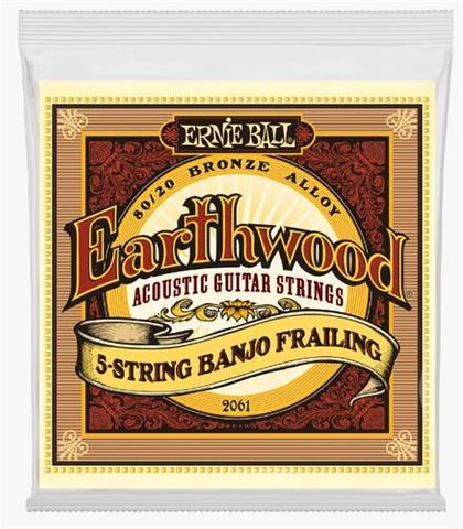 Ernie Ball Earthwood 80/20 5 Strg Banjo