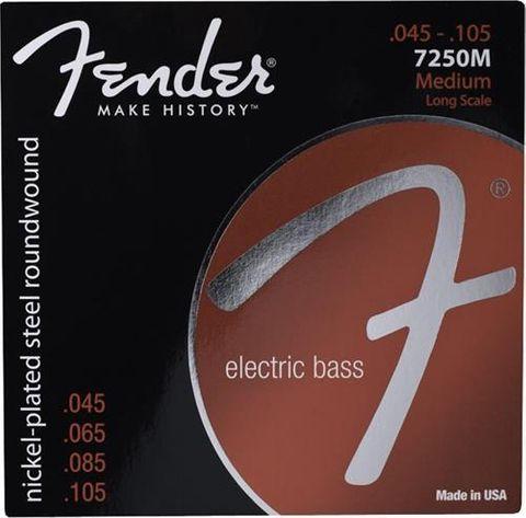 Fender 45 - 105 Bass Strings 7250M