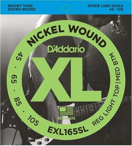 D'Addario EXL165SL Bass Strings