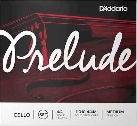 D'Addario 4/4 Prelude Cello Strings Med