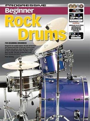 11807 Beginner Rock Drumming
