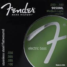 Fender 9050ML Flatwound St Steel 50-100