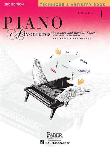 Piano Adventures Tech Artistry Bk 1