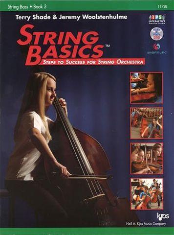 STRING BASS 3 String Basics